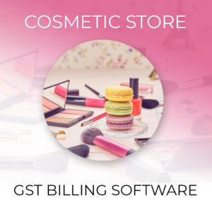 Cosmetic Shop Billing Software