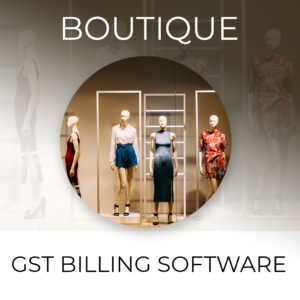 Boutique Billing Software