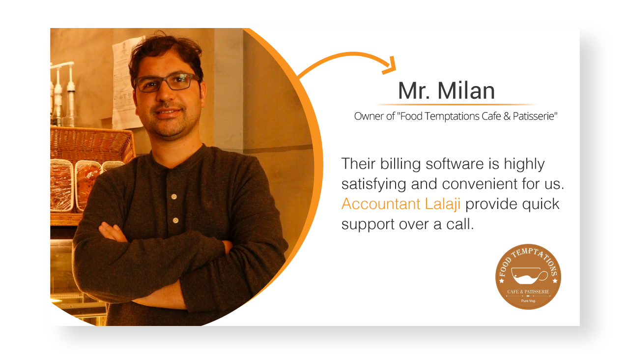 Food Temptation Billing Software Review