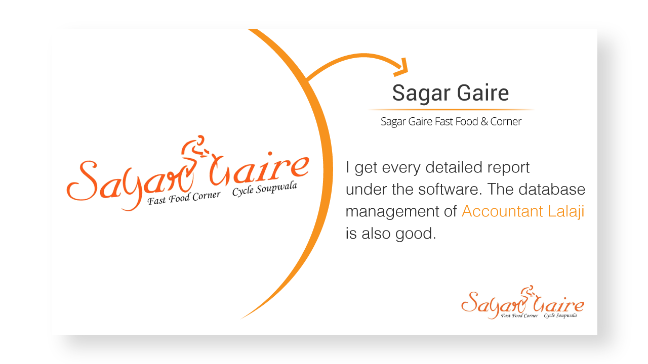 Sagar Gaire Billing Software review